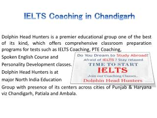 IELTS Coaching in Chandigarh Sector 34A