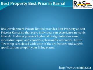 Best Property BEST Price in Karnal