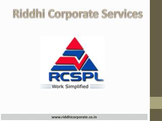 Riddhi Corporate Services