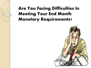 Payday Installment Loans- Superb Mean To Overcome Your Small Worries