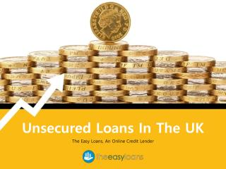 Flexible Offers on Unsecured Loans in the UK