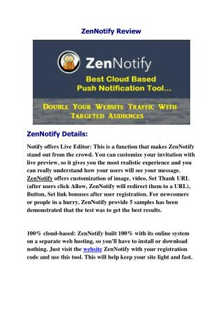 ZenNotify Review