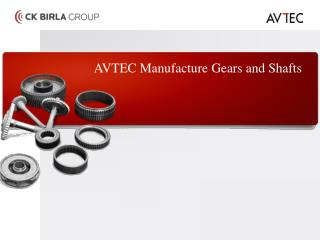 Avtec Transmission Parts Manufacturer