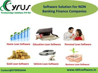 Buy  Gold Loan Software - NBFC Software