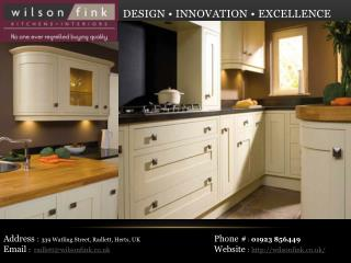German Kitchen Company London | Wilson Fink