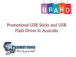 Promotional USB Sticks and USB Flash Drives in Australia