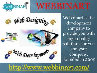 Webbinart is a web development And web designing company in Switzerland.