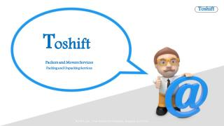 The Toshift Most Successful Moving And Transporting. Companies In Region