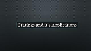 Gratings Manufacturers in UAE | Gratings Suppliers UAE