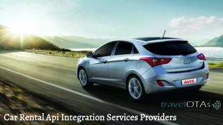 Car Rental API Integration Services Providers