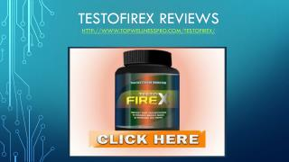 Testo Fire X Reviews - Top Wellness Pro