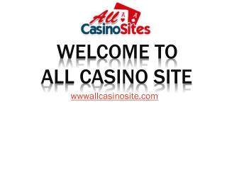 All New Casino Sites UK 2016