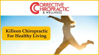 Killeen Chiropractic For Healthy Living