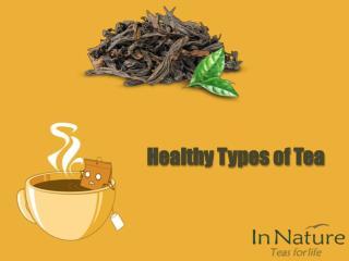Healthy Types of Tea