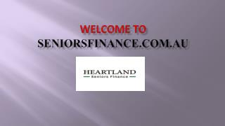 Heartland Seniors Finance – Reverse Mortgage Provider