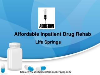 Affordable Inpatient Drug Rehab In Los Angeles California