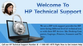HP Technical Support Phone Number 1-866-681-4979 for HP Devices Problem