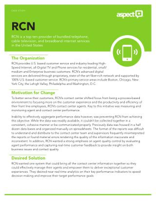 RCN cable services for satisfying experience of Internet, Television and Landline phone services and collaboration with