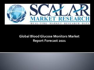 Global blood glucose monitors market