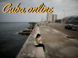 Cuba online