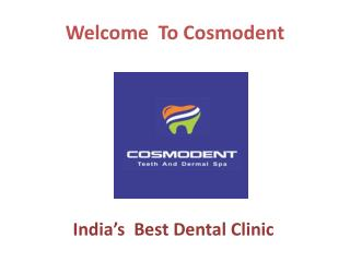 Cosmodent - Fixed teeth in 3 days with dental implants