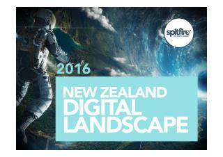 New Zealand Digital Marketing landscape 2016