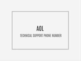 α???? ????????AOL mail customer service Phone Number (aol mail / aol desktop) error loging - reset password ppt