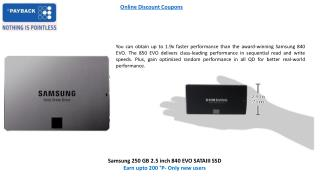 Discount Offers on Hard Drive