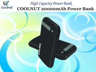Coolnut Power Bank