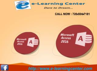 Microsoft Office 2016 - e-learningcenter.com