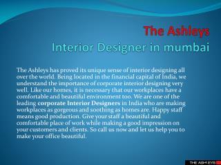 High End Interior Designer-THE ASHLEYS