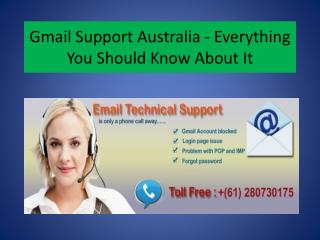 Gmail Customers Recover Email Account Access With Gmail Support Phone Number