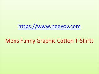 Navy Colour Mens Funny Graphic Cotton T Shirts