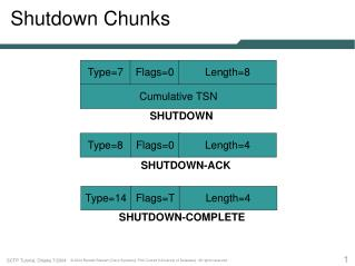 Shutdown Chunks
