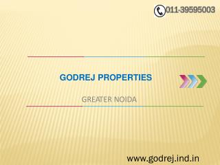 Godrej Properties in Greater Noida-Best Commercial Office Space In Noida