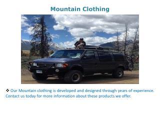 Mountain Clothing