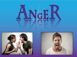 Stop Anger Join Anger Management Classes