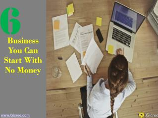 Business You can Start With No Money