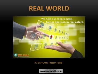 Real World: The Best Online Property Portal