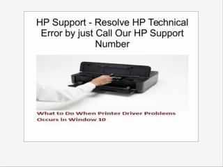 HP Support - Resolve HP Technical Error by just Call Our HP Support Number