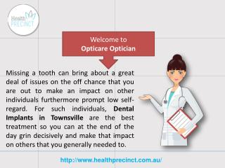 Dental Implants Service in Townsville