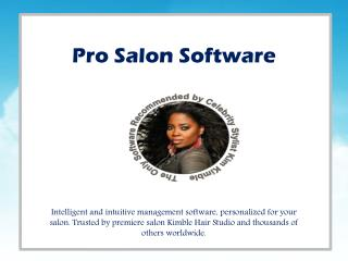 Pro Salon Software