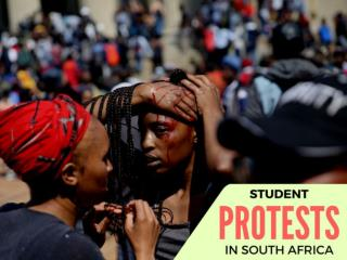 Student protests in South Africa