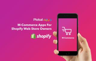 Shopify Mobile App by Plobal Tech
