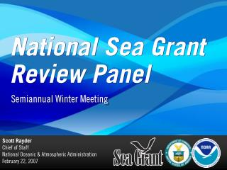 National Sea Grant Review Panel