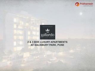 2 & 3 BHK Luxury Apartments At Salisbury Park, Pune