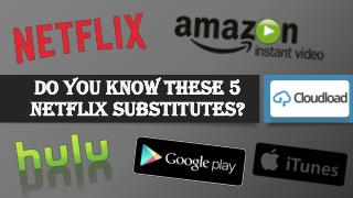Do you know these 5 Netflix substitutes?