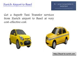 Zurich Airport to Basel