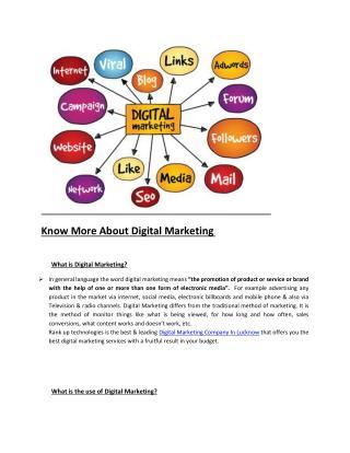 Book On Digital Markting