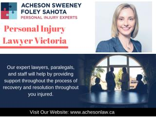 Get Free Consultation for Personal, Hospital & Accident Injuries in Victoria, BC